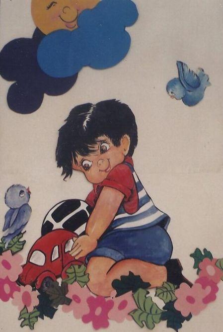 mural escola infantil 3
